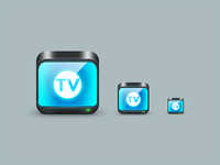 Icon webapp TV program