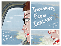 Thoughts From Iceland Promo Postcard