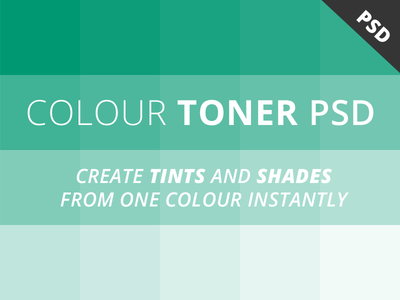 Download Free Colour Toner PSD