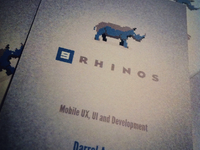 9Rhinos Business Cards