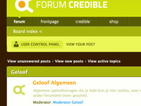 Credible Forum