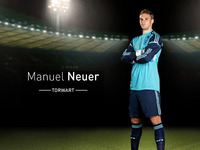 Germany's No 1: Manuel Neuer