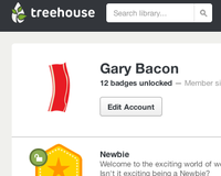 My Treehouse Profile
