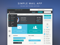 SimpleMail (Full View) - The easy way to email anything