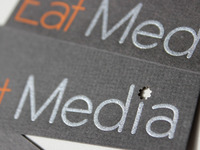 Eat Media Business Cards, Printed!