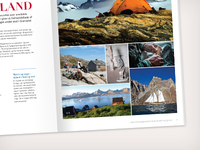 A sneakpeak to a travel magazine