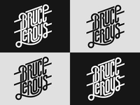 Bruce Leroys logo, vector versions
