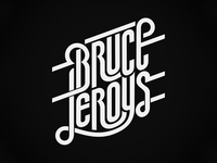 Bruce Leroys logo, selected version