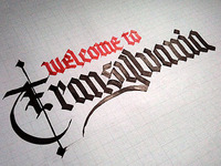 Welcome to Transylvania – sketch