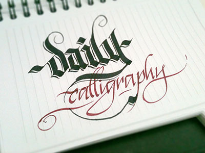 Daily_calligraphy
