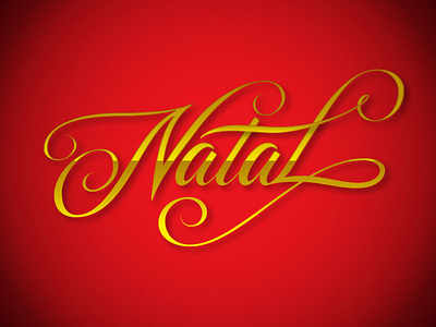 """Christmas"" lettering – color vector"
