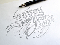 Happy new Year – sketch