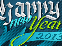 Happy new Year – final vector