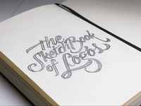 The (sketch)Book of Logos