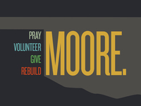 A little design shout out to Moore, OK