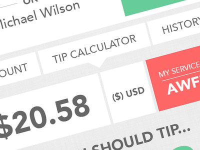 Tip Calculator - Inside App