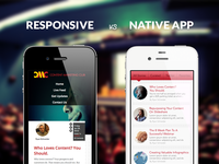 Responsive vs Native iOS App