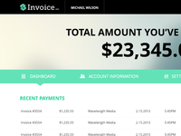 Invoice.am Dashboard