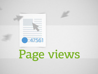 Pageviews White