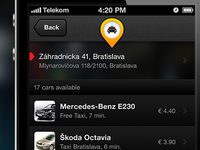 Taxi Ordering Application Listing