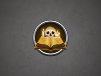 Part of the witchcraft icon kit (Skull)