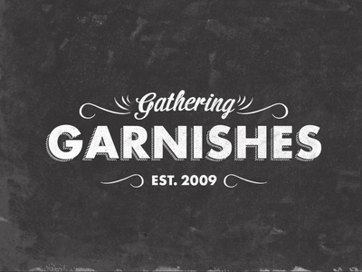 Gathering Garnishes Final