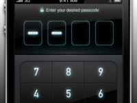 Passcode screen of MoneyTron