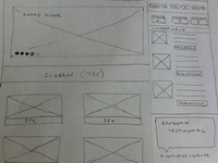 Rough Wireframing