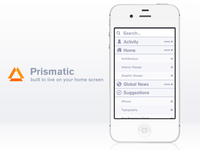 You can go anywhere with Prismatic