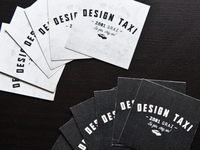 DesignTaxi - business cards