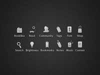 BücherBox Icons