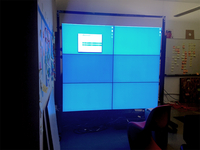 "Todays canvas: six 46"" HDTVs"
