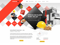 Krovstav-BB / Homepage webdesign