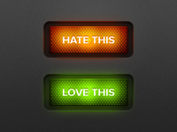 Hate/love this buttons