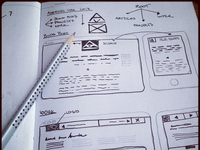 Wireframing Personal Website