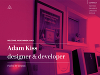 Adam Kiss 2013 – personal site 2
