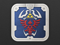 Hylian Shield Icon