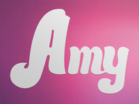Amy is my name...