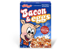 Bacon & Eggs breakfast cereal