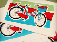 Bicycle Screen Print