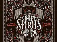 Craft Spirits Carnival 2013
