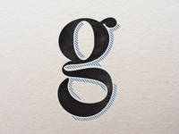 Lower-case g