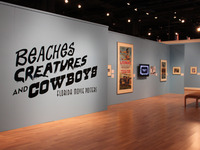 Vinyl Lettering & Exhibit Design