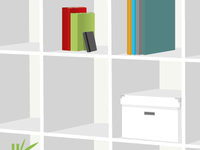 IKEA Expedit Illustration