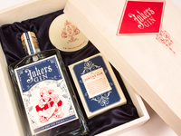 Jokers Gin Gift Packaging Set