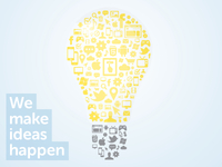 We make ideas happen