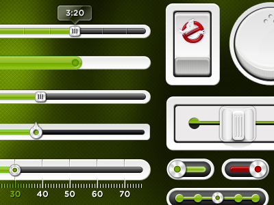 Slimer-green-ui-kit-preview