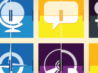 AMFM site section icons