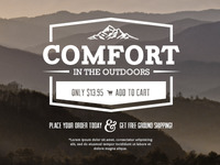 Comfort in the Outdoors