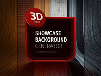 3D Showcase Background Generator